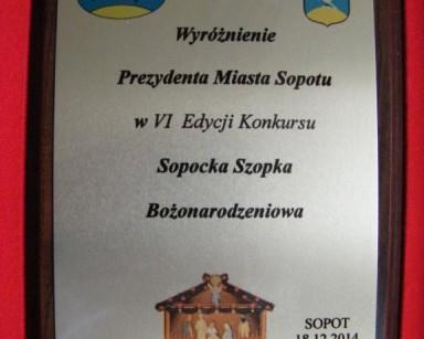 """""""Sopocka Szopka Bożonarodzeniowa"""""""