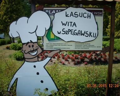 """""""Dzień łasucha"""" – Szpęgawsk"""