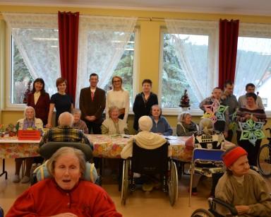 Goście ze Środowiskowego Domu Samopomocy w Sopocie