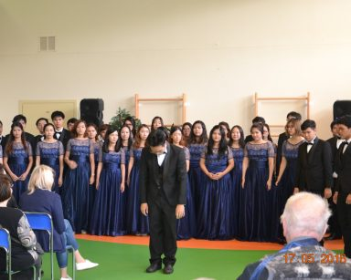 koncert CHÓRU UNIWERSYTECKIEGO MAHIDOL
