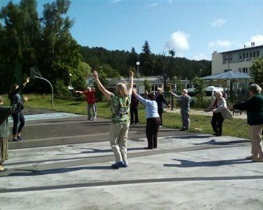 Gimnastyka na świeżym powietrzu