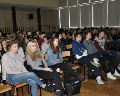 Spotkanie z młodzieżą z zespołu szkół numer 1