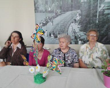 impreza urodzinowa Jubilatów z Domu Pomocy Społecznej i Dziennego Domu Pobytu urodzonych w maju