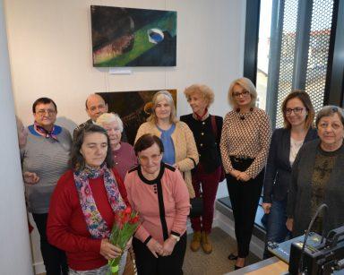Wystawa malarstwa Agnieszki Wielewskiej w Sopotece