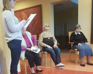 zajęcia studentów USWPS z mieszkańcami