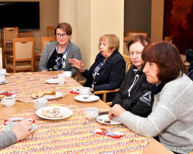 w sopockim Domu Pomocy Społecznej ruszył klub seniora.