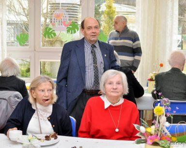 Spotkanie świąteczne z seniorami w Dziennym Domu Pobytu DPS w Sopocie.