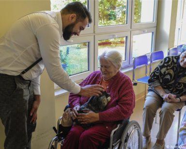 Wizyta wolontariuszy ze Stowarzyszenia Pomocy Królikom Uszakowo