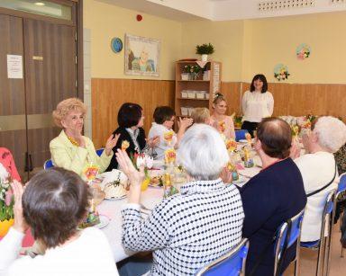 Śniadanie Wielkanocne uczestników Dziennego Domu Pobytu