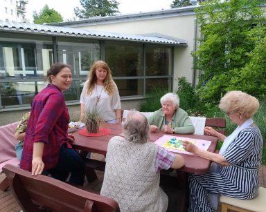 Fundacja AKME z Poznania z wizytą w Dziennym Domu Pobytu