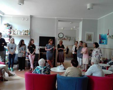 Trochę Petersburga w Sopocie, czyli wizyta wolontariuszy w DPS