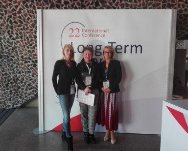 Dyrektor DPS Agnieszka Cysewska prelegentką międzynarodowej konferencji