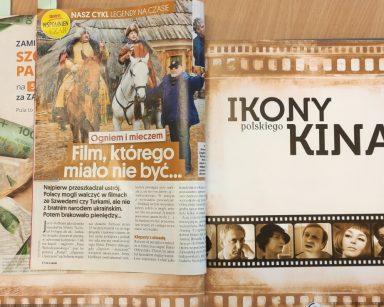 Otwarty magazyn filmowy i artykuł