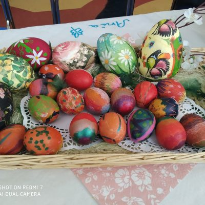 Pisanek ciąg dalszy - jajka gotowane w czerwonej cebuli