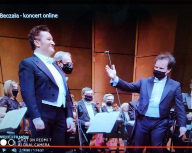 Teatr Wielki Opera Narodowa. Koncert online Piotr Beczała