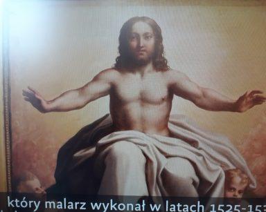 Obraz Chrystusa Antonio Allegriego pod tytułem