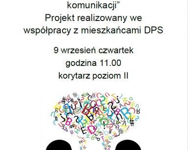 Plakat zapraszający na spotkanie